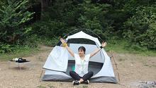 Bu kampta ateşi kadın yakar çadırı kadın kurar