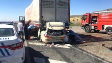 Gurbetçi aile Ankara'da kaza yaptı: 5 ölü