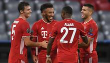 Bayern Münih 4-0 Atletico Madrid(Maçın özeti)