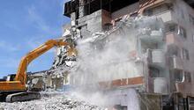 716 riskli bina yıkıldı
