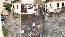Egede deprem... Tsunami yuttu