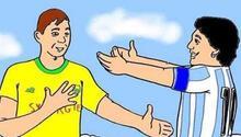 Fransız kulübü Nantesa Maradona karikatürü tepkisi