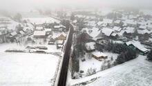 Almanya'ya kara kış geldi