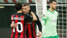 Milan 4-2 Celtic (Hakan Çalhanoğlunun golü)