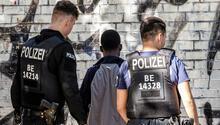 Polis gücünü üç katına çıkarınca Görlitzer Park'ta suç azaldı