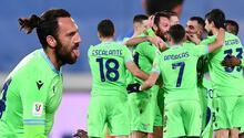 Vedat Muriqinin Lazio formasıyla attığı ilk gol (VİDEO)