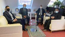 UID Almanya Başkanı Köksel Kuş'tan başkonsolosa ziyaret