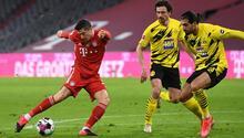 Bayern Münihten harika geri dönüş Borussia Dortmunda gol yağdırdı