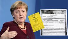 Merkel aşı oldu