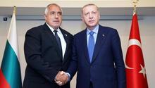 Son dakika haberi: Cumhurbaşkanı Erdoğan, Boyko Borisov ile görüştü
