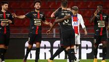 Rennes 1 - 1 PSG (Maç özeti)