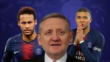 Başakşehir Kulübü Başkanı Göksel Gümüşdağdan Neymar ve Mbappeye teşekkür