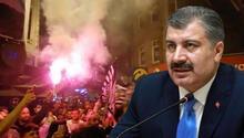 Son dakika: Sağlık Bakanı Fahrettin Kocadan şampiyon Beşiktaş taraftarına uyarı