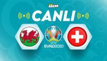 Canlı Anlatım İzle: Galler İsviçre (EURO 2020 maçı)