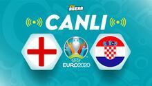 Canlı Anlatım İzle: İngiltere - Hırvatistan maçı