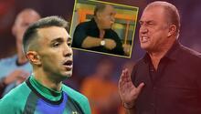 Son Dakika Haberi... Galatasaray- PSV maçında Fatih Terim çılgına döndü Sözleri ekrana yansıdı, Musleranın hareketi sonrası...