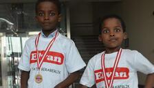 'Çocuk İnovasyon Ödülü'Etiyopyalı kardeşlere