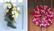 Bahar mevsimine uygun kapı süsleri
