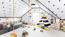 Çocukların hayallerini süsleyecek odalar
