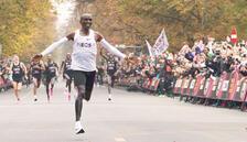 Teknoloji destekli maraton rekoru
