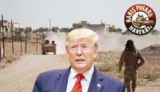 Trump'tan YPG'ye 'Umarım çekilirler'