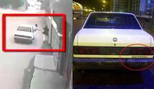 Otomobildeki yazıdan yakalandılar