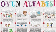 MEB'den çocuklara 'Oyun Alfabesi'
