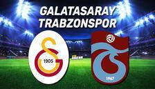 Galatasaray Trabzonspor maçı saat kaçta ve hangi kanalda canlı izlenecek? Maç öncesi son dakika gelişmeler