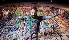 Ressam Jafri'den dünyanın en büyük resmi
