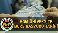 2020 VGM yükseköğrenim burs başvuruları ne zaman bitecek? Vakıflar Genel Müdürlüğü (VGM) üniversite burs başvuru ekranı