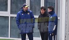 Fenerbahçe idmanında dikkat çeken görüntü! Erol Bulut, Emre Belözoğlu ve Gökhan Gönül...