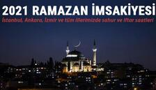 İl il 2021 Ramazan imsakiyesi.. İstanbul, Ankara, İzmir ve tüm illerimizde sahur ve iftar saatleri