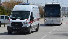 Yolcu otobüsünde bir kişinin testi pozitif çıktı! 48 kişi karantinada...
