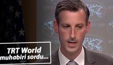 TRT World muhabiri sordu, ABD Sözcüsü cevap veremedi