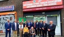 İngiltere Türk Toplumu Futbol Federasyonu binası hizmete açıldı