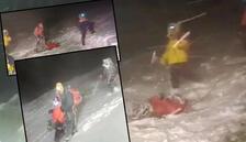 Çok acı görüntüler... Rusya'nın Elbruz Dağı'nda 5 dağcı öldü