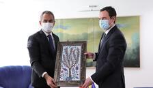 Özer, Kosova Başbakanı Kurti ile görüştü
