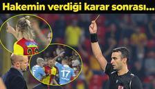 Son Dakika: Göztepe-Trabzonspor maçında saha karıştı! Hamsik, Atınç Nukan ve...
