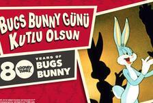 Tüm zamanların en sevilen çizgi karakteri Bugs Bunny hep gündemde!