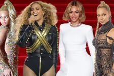 Beyonce'nin En İyi Kırmızı Halı/Sahne Kostümleri