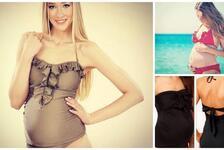Hamileler için mayo ve bikini modelleri