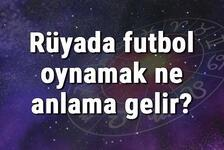 Rüyada futbol oynamak ne anlama gelir? Rüyada futbol topu ve sahası görmek anlamı