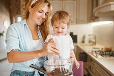 Çocuklarınızla birlikte yemek yapmak için 5 harika sebep
