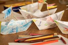 Kağıttan gemi nasıl yapılır? İşte çocuklar için kağıttan gemi yapımı...