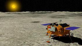Çinden keşif öncesi Marsa iniş testi