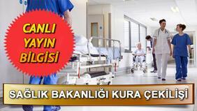 Sağlık Bakanlığı sürekli işçi alımı kura sonuçları açıklanıyor