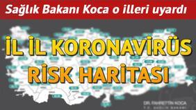 3-9 Nisan haftası haftalık Kovid-19 haritası yayınlandı
