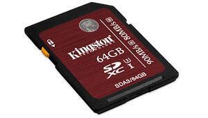Kingstondan 4K çekim destekli SD kart