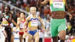 Şampiyon atlet hem kadın hem erkek