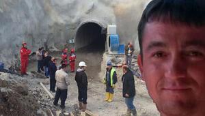 Kütahya'da hidroelektrik santrali tünel inşaatında göçük